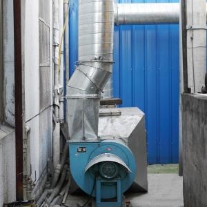 方力密封件炼胶废气处理