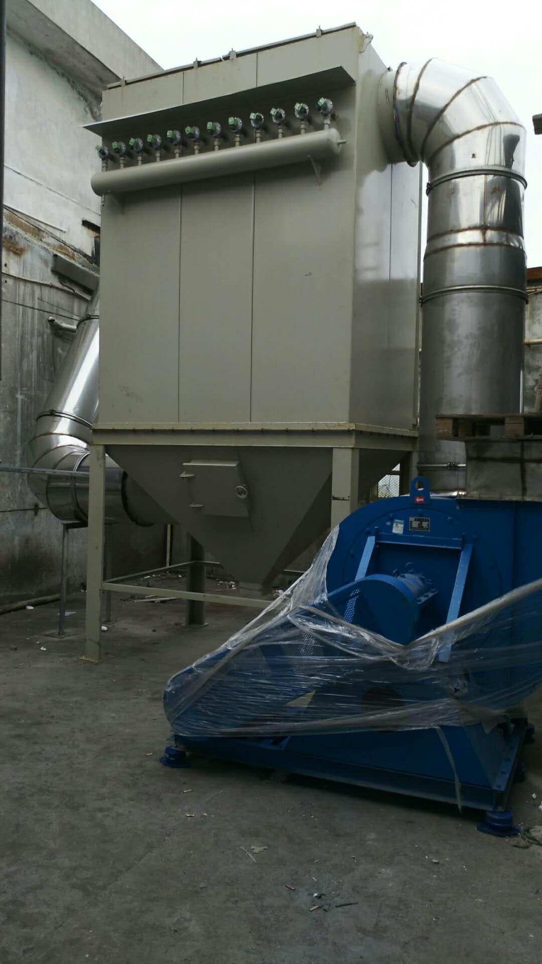 铝熔炼铝废气处理高温除尘设备